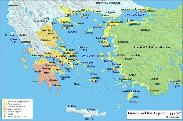 PENTECONTAEDIA (481-432 a.C.)