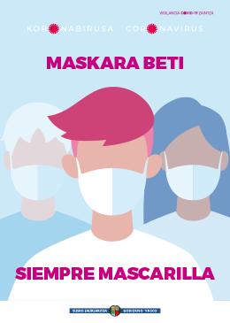 Mascarilla obligatoria en España