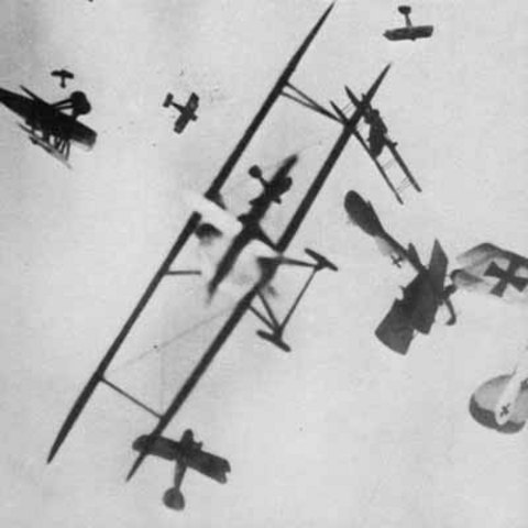 First Air Combat Recorded Between French and German Planes