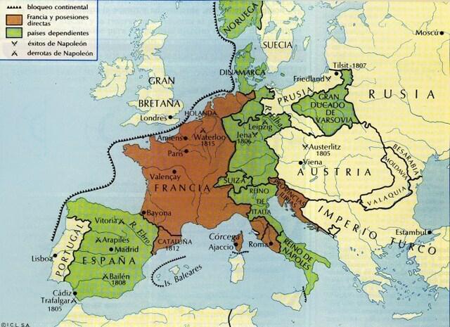 Francia pide a Portugal que se una al Bloqueo Continental