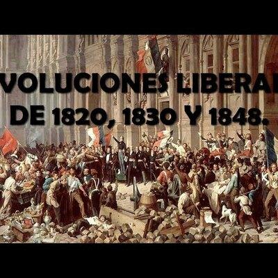 LAS REVOLUCIONES LIBERALES EN EUROPA (1820 a 1848) timeline