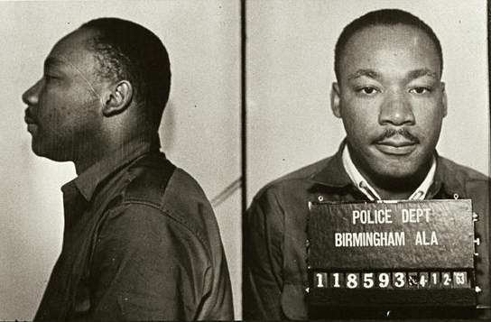 "MLK Wrote ""Letter from Birmingham Jail"""