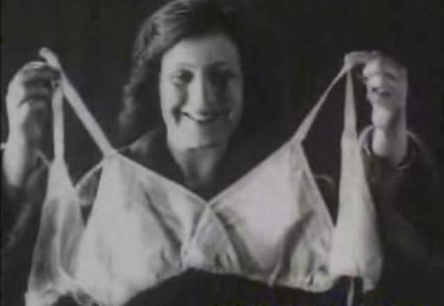 The first bra was invented
