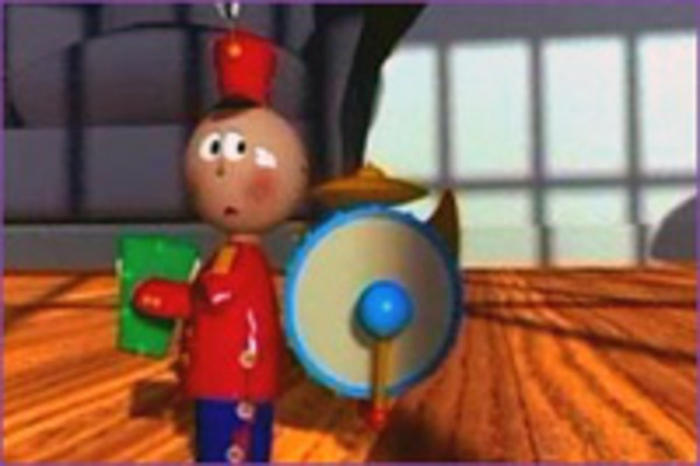 Pixar`s Tin Toy