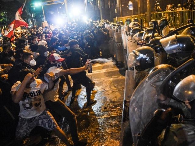 Protestas en Perú contra el Gobierno
