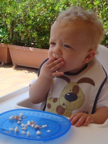 Primera menjar sòlid