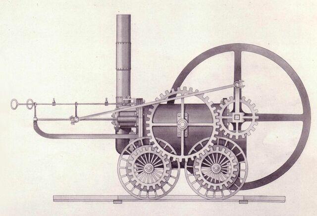 Invención de la máquina de vapor.