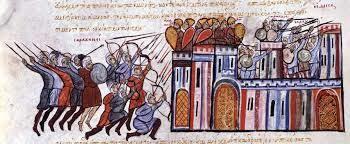 Toma de Jerusalén por los árabes