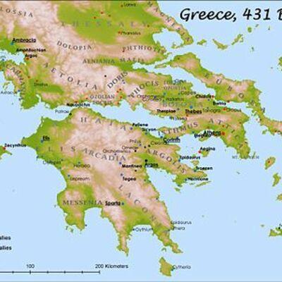 La civiltà Greca timeline