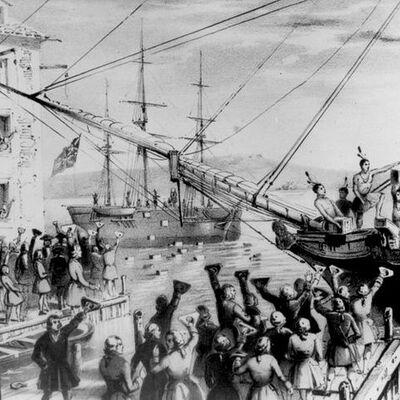 REVOLUCIÓN DEL TÉ (1763 - 1773) timeline