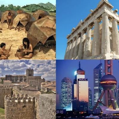 Las Ciudades y su Historia timeline