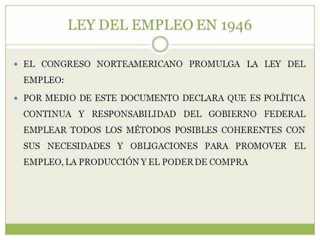 """El congreso aprobó la """"Ley de Empleo"""""""