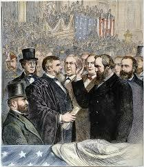 Rutherford B. Hayes is inaugurated president.