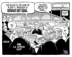 Supreme Court issues Plessy v. Ferguson decision.