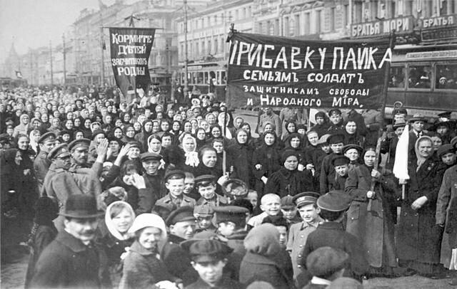 Revolución Febrero Rusia