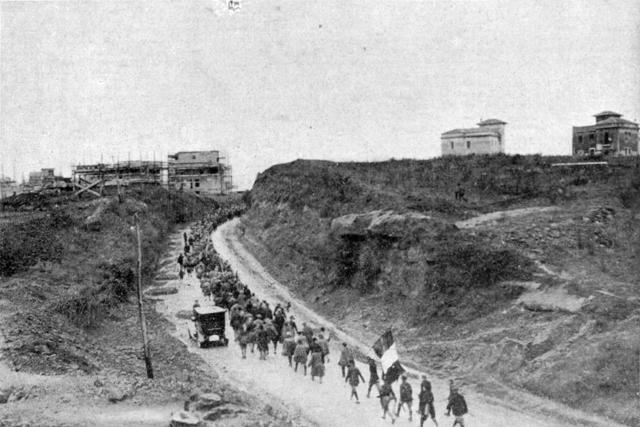 Mussolini marcha sobre Roma