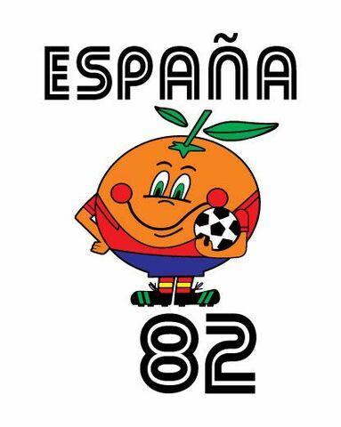 Copa Mundial 1982 España