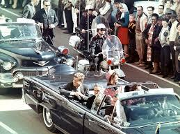 •Kennedy Assassinated in Dallas, Texas (1963)