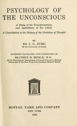 """Carl Gustav Jung publica """"Transformaciones y simbolos del libido"""""""