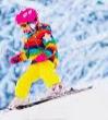 La meva primera esquiada