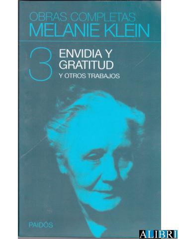 """Klein publica su libro """"Envidia y gratitud"""""""