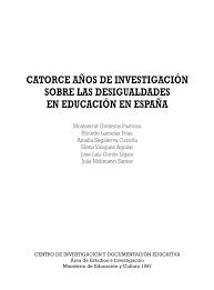 Revista de Desigualdades en España