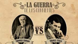 Thomas Alva Edison i Nikola Tesla