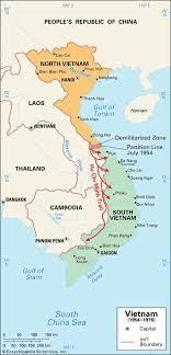 •Vietnam Independence but Country Split at 17th Parallel