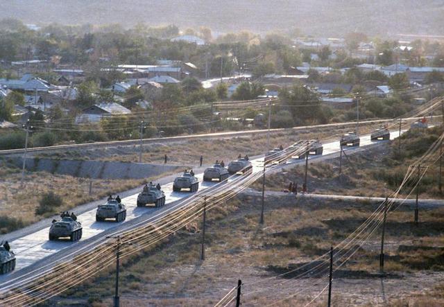 Inizio delle operazioni di ritirata dall'Afghanistan delle truppe nipponiche