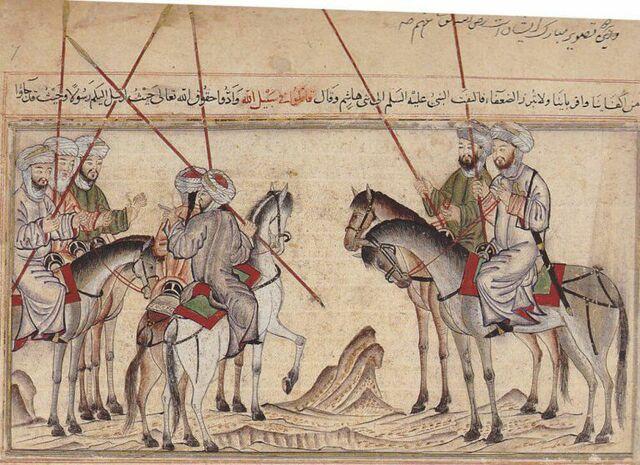 Mahoma conquista la Meca.