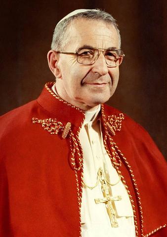 Elezione al soglio pontificio di Papa Giovanni Paolo I