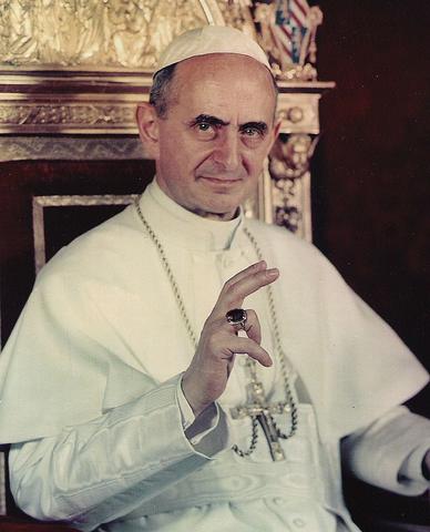 Elezione al soglio pontificio di Papa Paolo VI