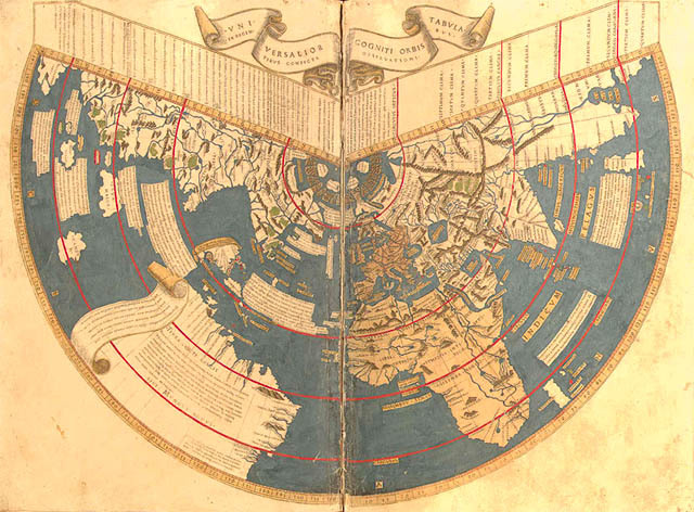 planisphère de Johannes Ruysch