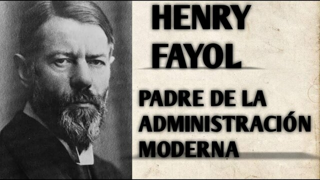 La teoría clásica (Francia, 1916). Henry Fayol