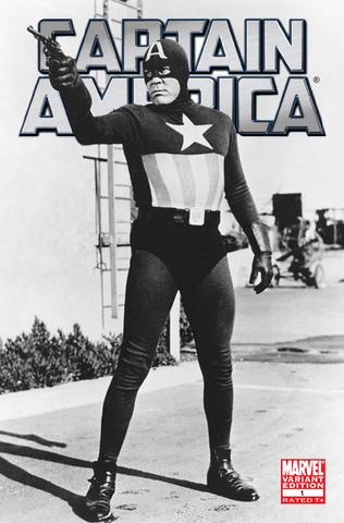 El primer intento. Capitán América