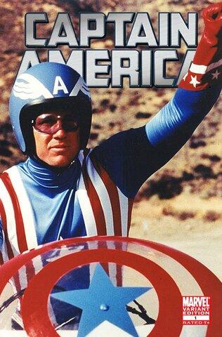 Marvel y CBS. Capitán América