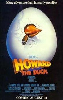 El gran fracaso. Howard The Duck