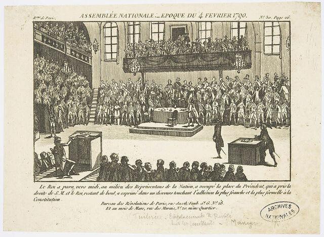 Nascita dell'Assemblea Nazionale Costituente