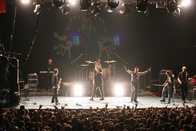 Первый сольный концерт группы.