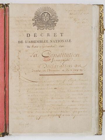 Prima Costituzione