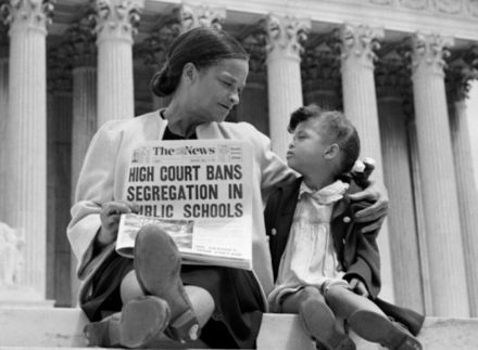 supreme court decision of brown v. board of educationd