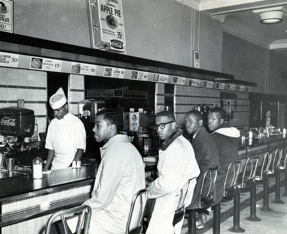The Greenhouse Four Lunch Counter Sit-In