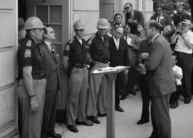 intregation of the university of Alabama by Vivian Malone & James A. Hood