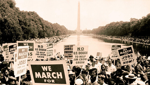 """The March on Washington & """" I Have A Dream"""" Speech by MLK"""