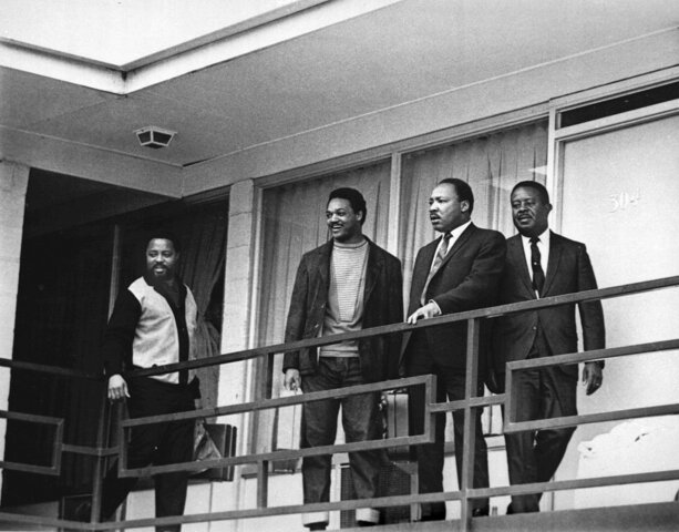 The Assassination of Martin Luther King Jr. in Memphis, Tennessee