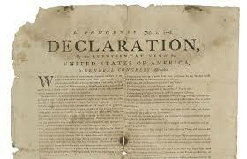 Declaration of Independence Pt. 1