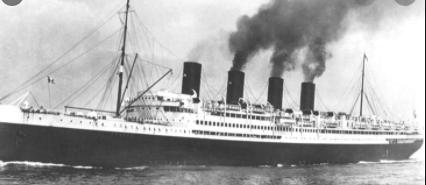 Sinking of the France IV passenger liner