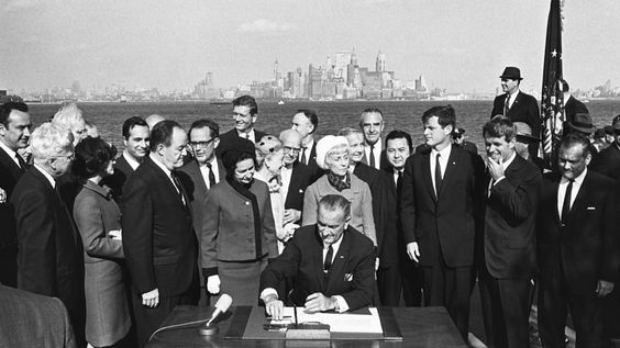 Immigration and Nationality Act of 1965 Passed
