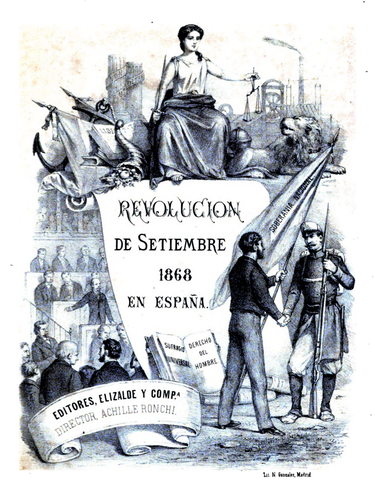 """Revolució """" La Gloriosa"""""""