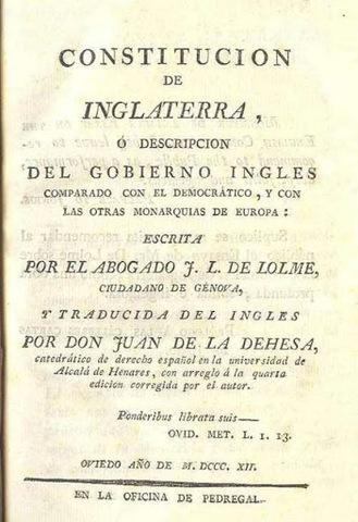 Constitución Inglesa: Carta Magna